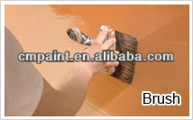 Clear varnish mould proof fireproof coating for wood
