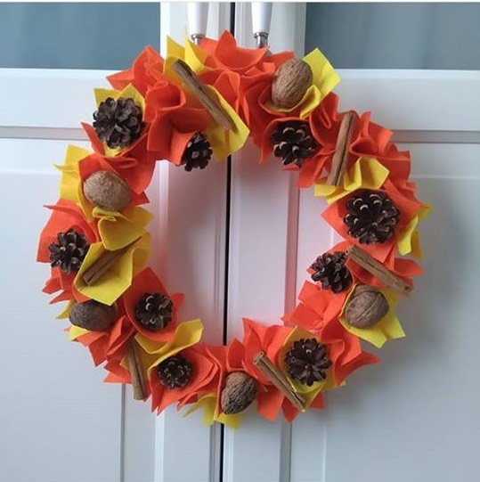 Photo of Wreath craft for preschool