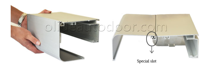 Automatic sliding door mechanism sd280 cover